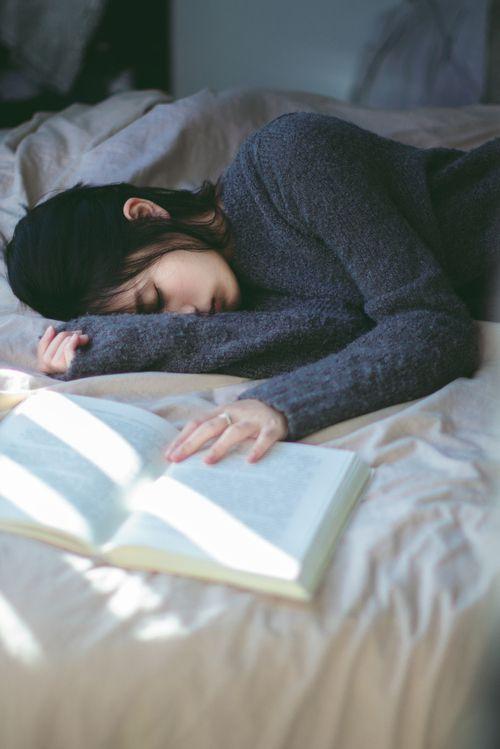 Sad or sleeping?