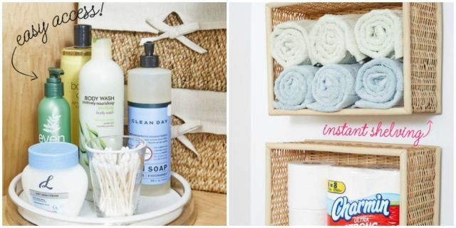 11 Dollar Store Buys That Are Fantastic Bathroom Organizers - WomansDay.com