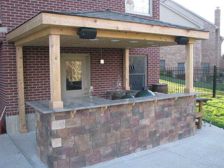66 besten outdoor k che bilder auf pinterest outdoor k che kochen im freien und verandas. Black Bedroom Furniture Sets. Home Design Ideas
