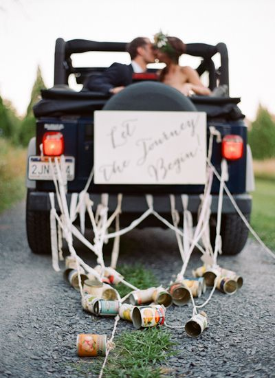 tin can getaway | Jen Fariello #wedding