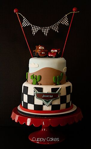 Vroom! Disney Pixar Cars Cake | por **JanetSumner**