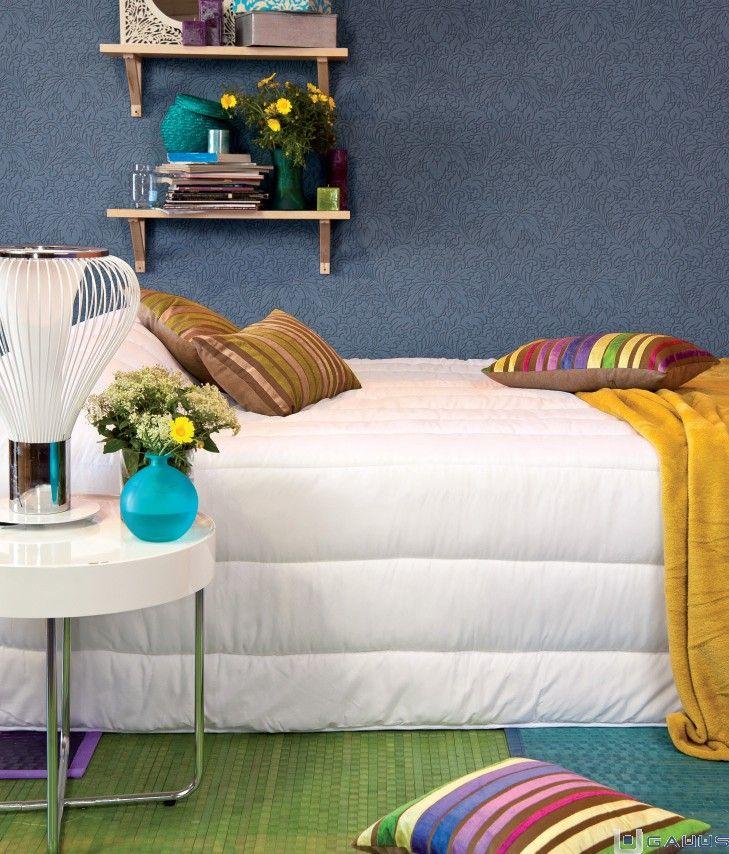 ¡Dale un toque de color a tu dormitorio! Mira estas ideas ¿Con cuál te quedas?  http://www.gauus.es/blog/decoracion-de-dormitorios-coloridos.html #RopaHogar