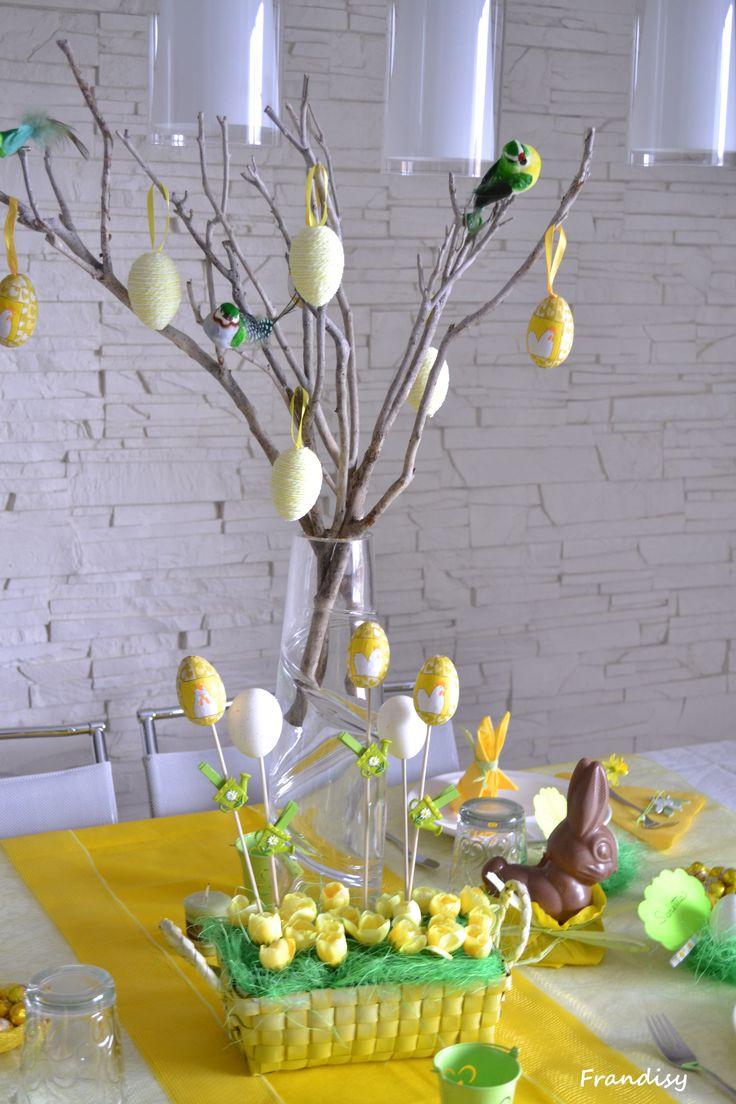 Centro tavola di Pasqua