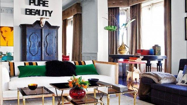 Postwar Pad: A Spanish Designer Breathes New Life into a Madrid Apartment via @domainehome