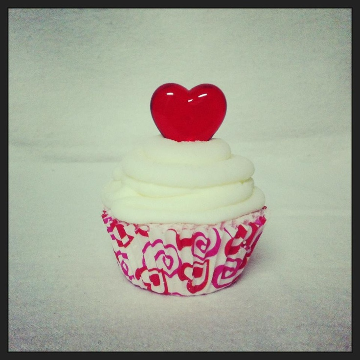 Mini cupcake bath bomb -chocolate with white icing.  www.etsy.com/shop/sweetbathbakery