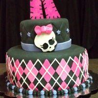 LOVE the bottom tier!: Monsters High Birthday, Cakes Ideas, Birthday Parties, Monsterhigh, Parties Ideas, Monster High Cakes, Birthday Ideas, Monsters High Cakes, Birthday Cakes