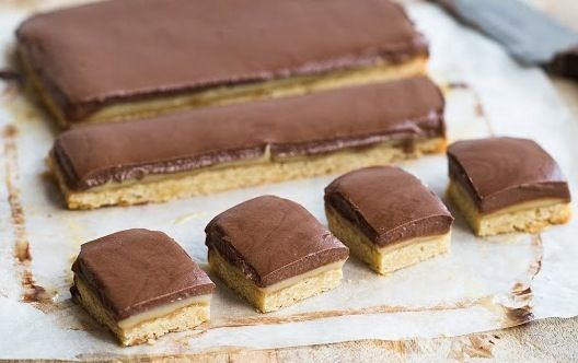 Looking for a HEALTHY caramel slice recipe? The I Quit Sugar version is definitely a sweet treat, but with minimal sugar you'll love this caramel slice!