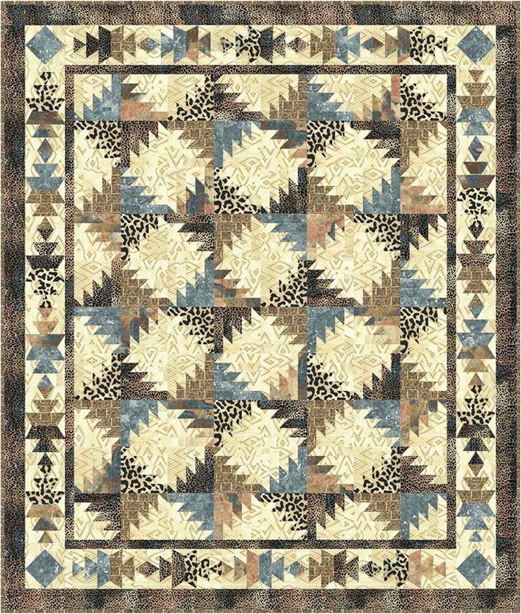 Tequila Buzz Quilt Pattern MR-141 (throw, Queen, Advanced