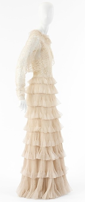 Chanel Dress - 1936 - House of Chanel (French, founded 1913) - Design by Gabrielle 'Coco' Chanel (French, 1883-1971) - Silk