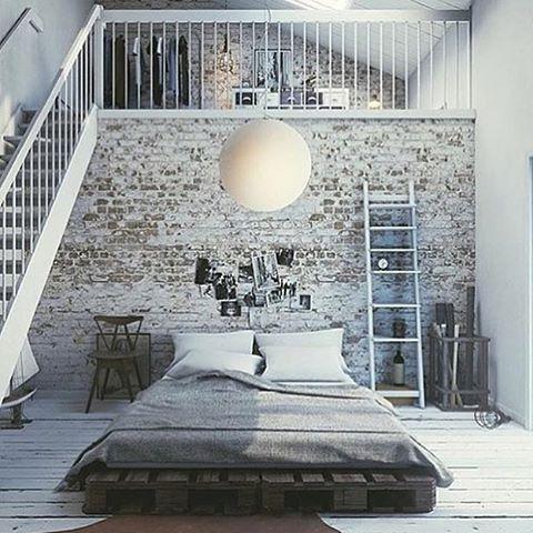 Bildresultat för loft med säng
