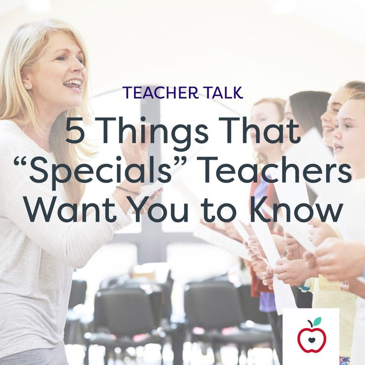 """A music teacher shares the frustrations of being a """"specials"""" teacher — and why what they do is so important."""