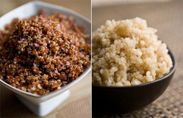 Quinoa, with its mild, nutty flavor, is related to leafy green vegetables and is often used like a grain.