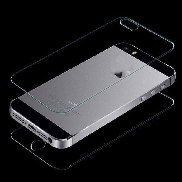 Front   Back Premium Real Tempered Glass Film Screen Protector for iPhone 5 5S  #iPhone #iPhoneProtector #iPhoneScreen #screenprotector