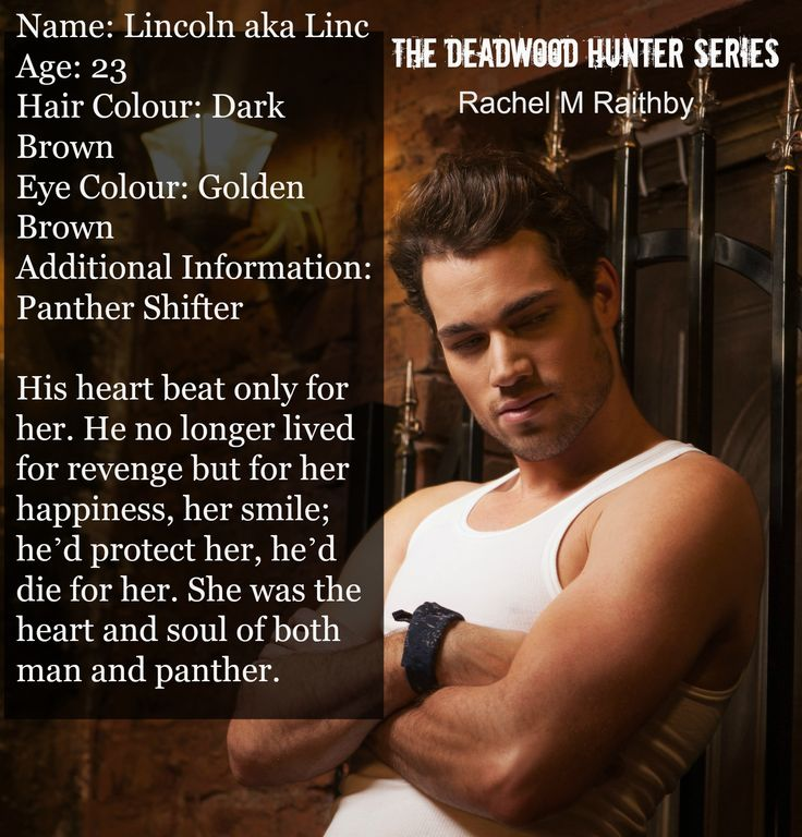 Aww Linc, My pretty Panther and first fictional love!