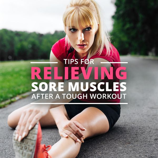 Tips for Relieving Sore Muscles After a Tough Workout #workouts #soremuscles #fitnesstips