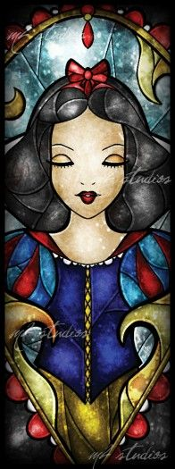 Disney Stained Glass - Snow White