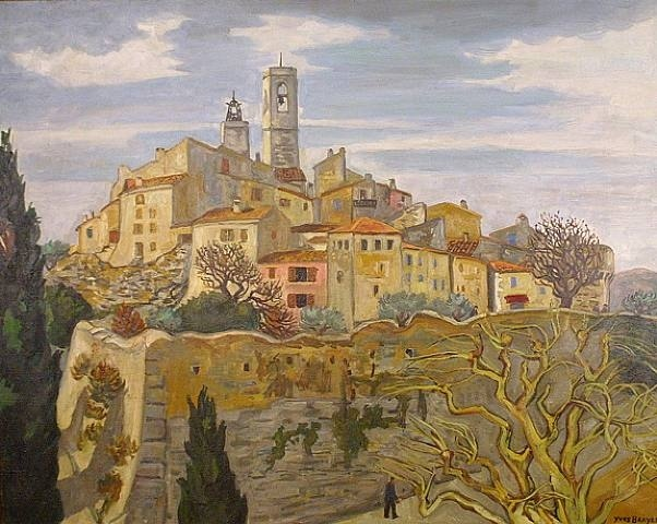 artnet Galleries: Saint Paul en Hiver by Yves Brayer from Soufer Gallery