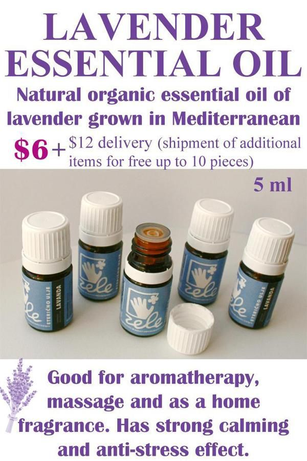 Lavender essential oil 5 ml – Pure Natural Organic Lavender oil - Mediterranean Lavender - French Lavender - Calming - Anti-stress - Relaxing - Aromatherapy - Lavender fragrance - Home fragrance - Gift idea
