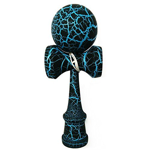 Wooden Kendama with Lightning Decorative Pattern for Sports, Game and Family