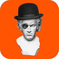 Image result for the clockwork orange book cover
