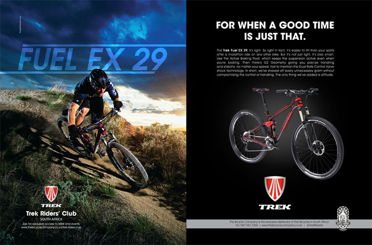 Trek - Fuel Ex 29. By http://www.the-greenhouse.co.za/