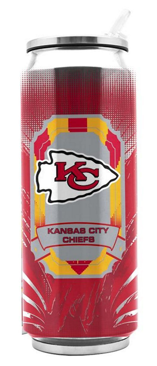 Duck House Sports proudly presents a modern update to the classic Soda Can, or ThermoCan., Perfect for enjoying your iced tea, lemonade, hot or cold, Duck House ThermoCans are fun for all ages and rea https://www.fanprint.com/licenses/kansas-city-chiefs?ref=5750
