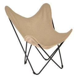 La Chaise Longue Stoel Vlinder - Ecru