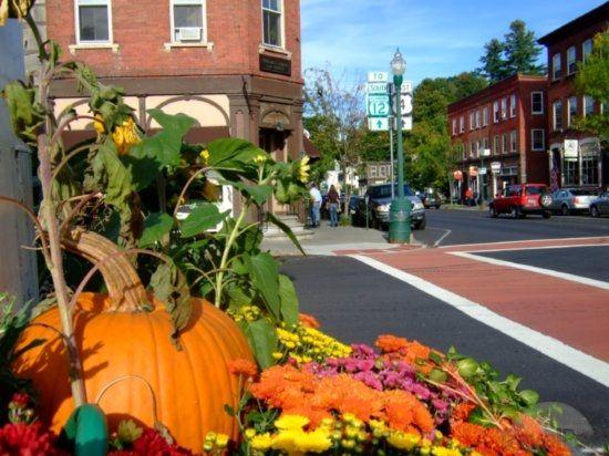 Season's Harvest - Town Center, Woodstock, vt by TravelPod Member ...