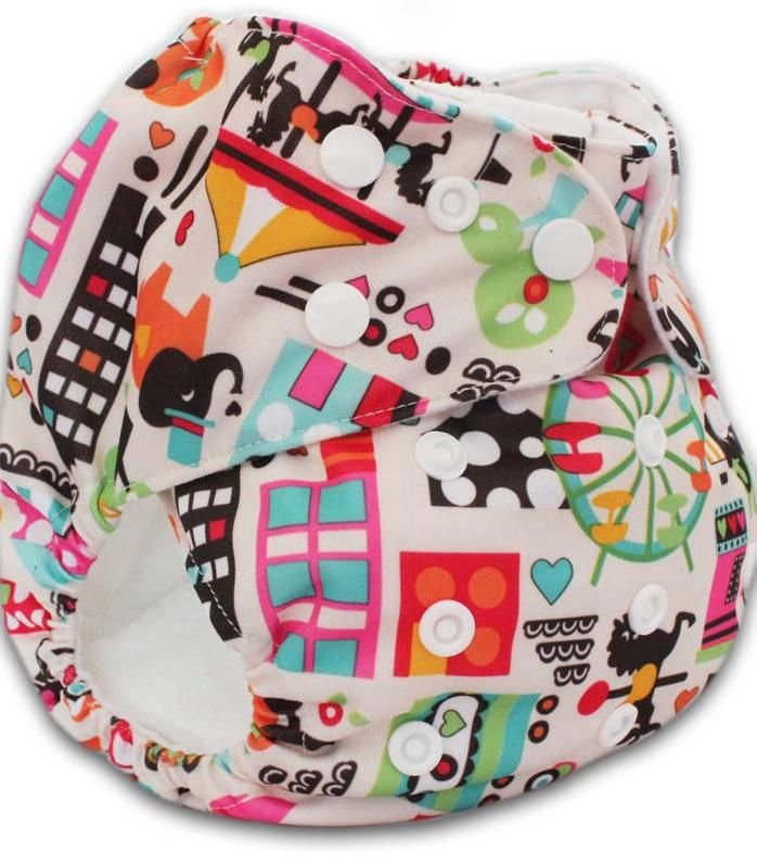 how to fold cloth diapers