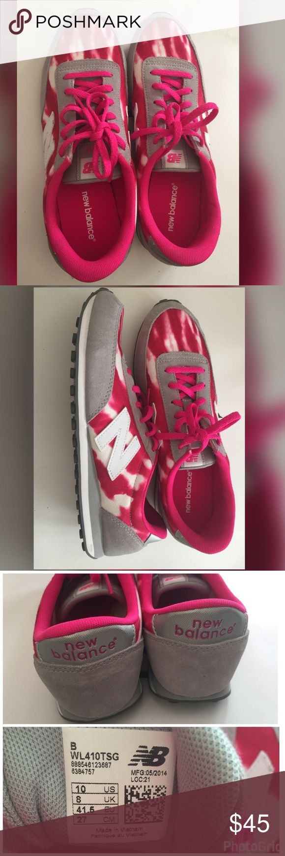 New!New balance women WL410 size 10us New!New balance women WL410 size 10us Come with new balance original box (not it's own box) Very good for walking or running. I'm size 10us but it a bit tight for me. This will fit better for 9.5us.  Any question feel free to ask me. New Balance Shoes Sneakers