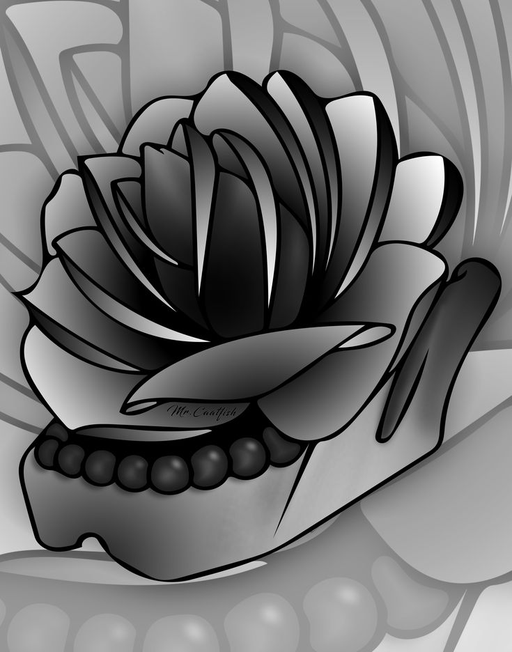 From the corpses flowers grow (c) Antony Hegarty . Rose tattoo design created by Mr.Catfish . iPad Pro + Apple Pencil #rose #skull #jaw # colortattoo #design