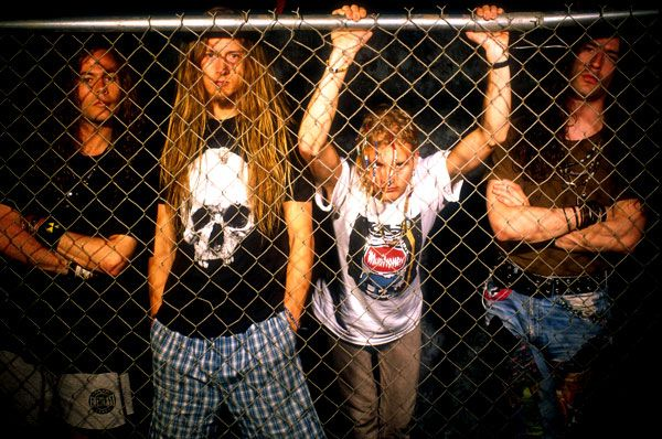 1991 Photo - Photos: Alice in Chains in the Nineties | Rolling Stone...Jerry's dreads!!