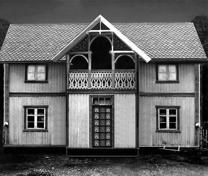 Hovedhuset påbygd rundt 1920