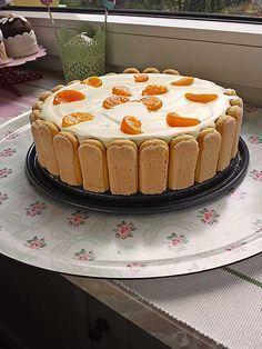 Mandarinen - Philadelphia Torte (Rezept mit Bild) | Chefkoch.de