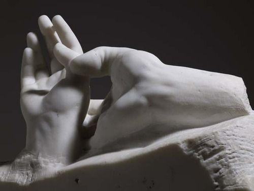 Auguste Rodin Lovers' hands © Musée Rodin