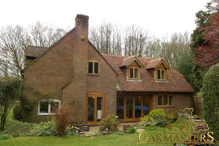 Enhance your home with oak framed windows and doors.
