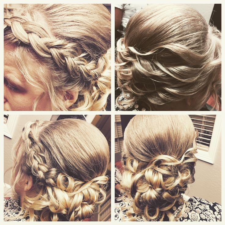 Updo by Cassie Brennan with Indulgence Hair Design, located within Serenity Salon Suites in Glendale, AZ