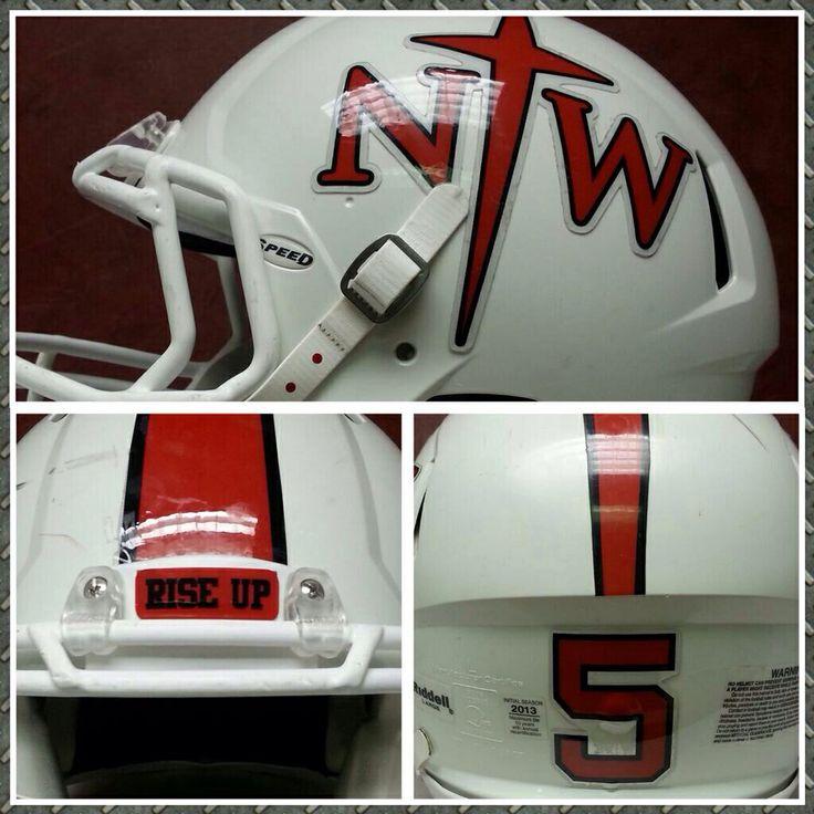 Updated helmet look for Northwestern College Red Raiders ...
