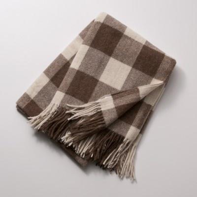 Llama Check Throw Blanket | Schoolhouse Electric & Supply Co.