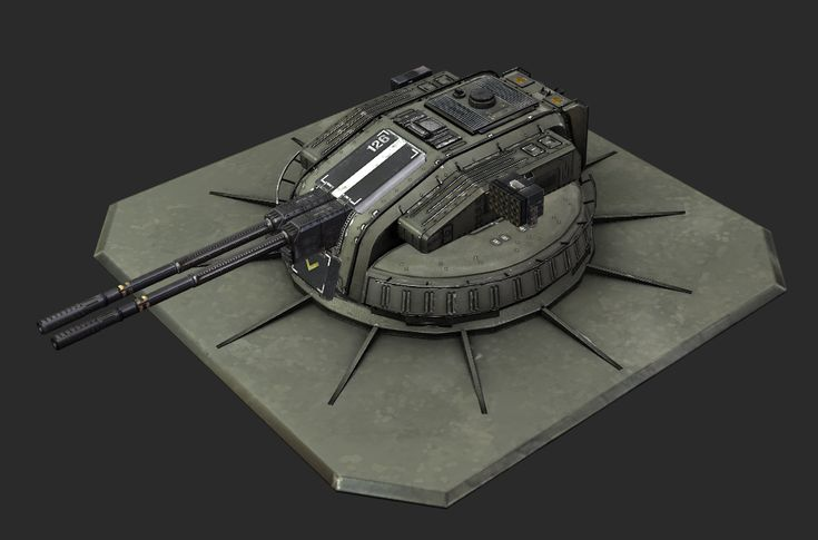 Dem 130-mm railguns, mang. Part of a much larger project that I've been pouring my precious free time into. I'll be dumping cooler bits and pieces of it here as I keep working on the damn thing.