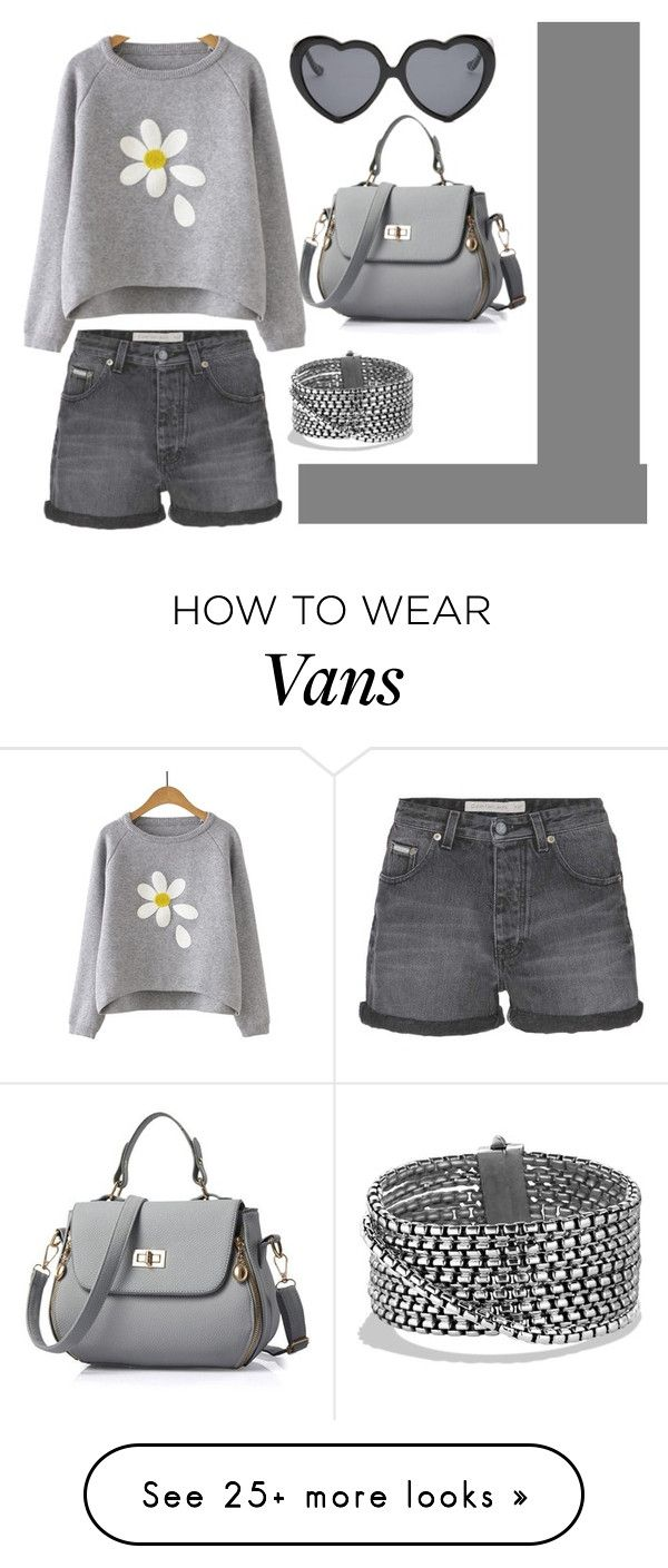 """""""58"""" by mbubbles109 on Polyvore featuring Calvin Klein Jeans, Vans and David Yurman"""
