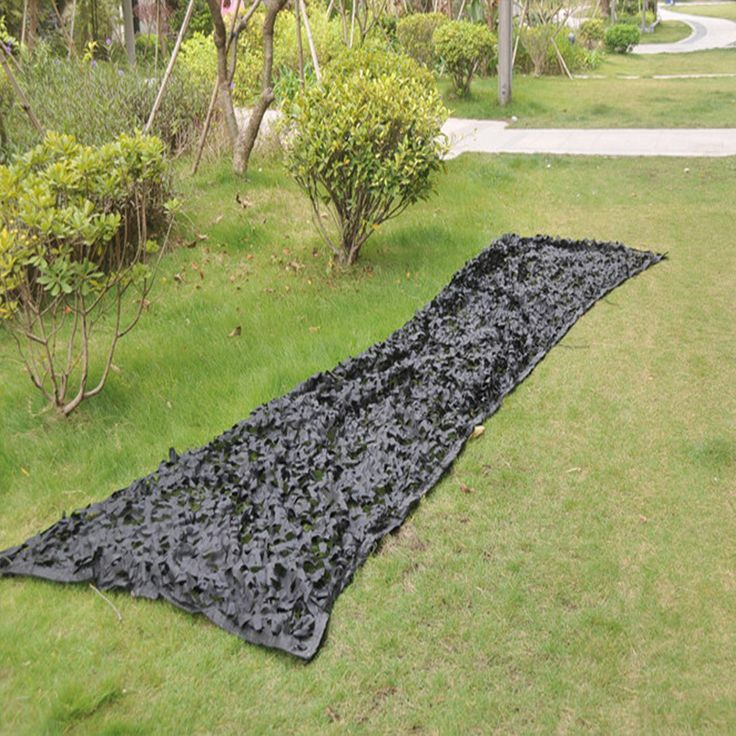 Black 1.5X4M Hunting woodland black Camouflage Net cover for club golf cart home decoration Military photograph