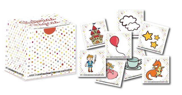 Historias mágicas es un juego de tarjetas con imágenes inspiradas en los cuentos, para que lo niños desarrollen su creatividad, adquieran...