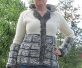 Womens wear by Aud B. Patterns for knitted and crocheted clothes.