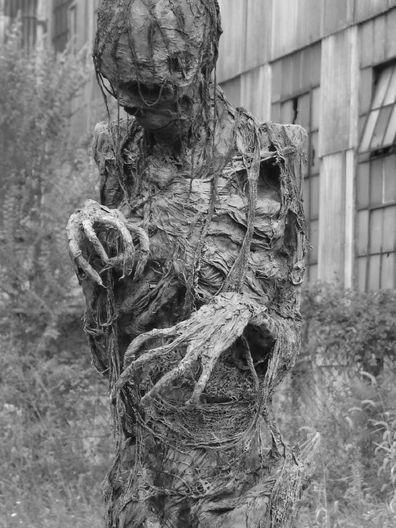 A really rotten zombie?