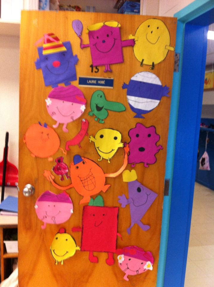 Monsieur Madame classroom door
