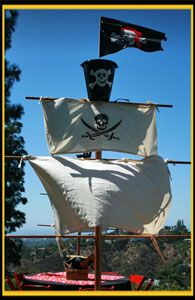 Adult pirate party decorations - photo#51