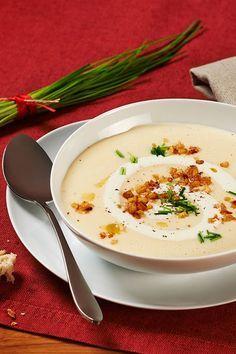 Rezept Kartoffel Käse Suppe mit Sellerie