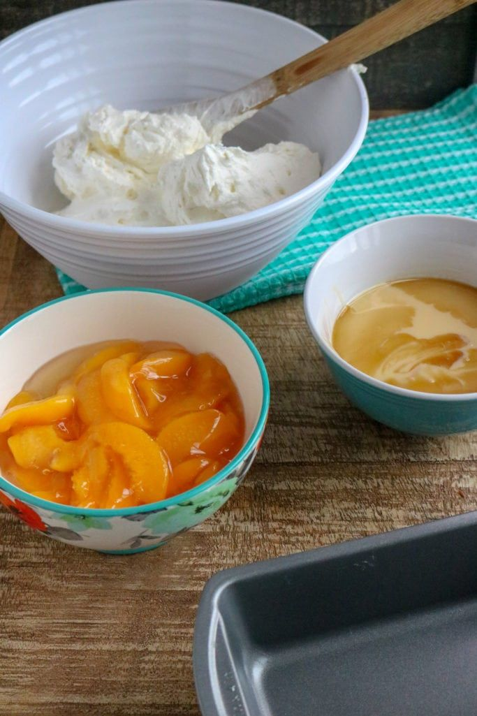 Easy No Churn Peach Ice Cream The Country Cook Recipe Recipes With Whipping Cream Peach Ice Cream Filling Recipes