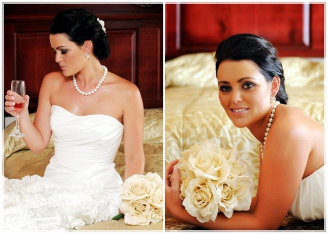 smokey eye bridal make-up: Robyn Bowles